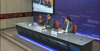 Видеомост по итогам парламентских выборов в Армении состоялся в пресс-центре Sputnik Армения