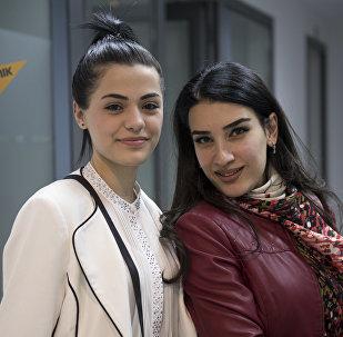 Ангелина Папикян и Анна Хачатрян