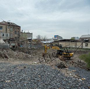 Ситуация на рынке Фирдуси в Ереване