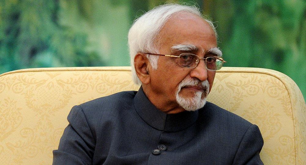 Вице-президент Индии Мохаммад Хамид Ансари