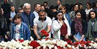 102-ая годовщина Геноцида армян. Цицернакаберд
