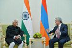 Президент принял делегацию, возглавляемую Вице-президентом Индии Мохаммадом Хамидом Ансари