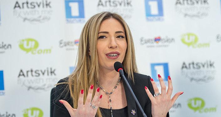 П/к участницы Армении в Евровидении 2017 Арцвик Арутюнян
