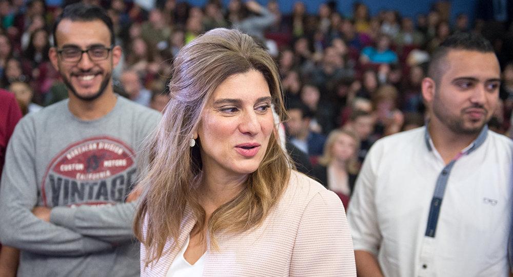Принцесса Иордании и глава Международного Союза по борьбе с раком Дина Майред