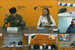 Видеомост, посвященный Дню Победы в Великой Отечественной войне состоялся в пресс-центре Sputnik Армения
