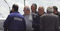 Акция протеста в 102-ой российской базе в Гюмри