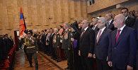 Президент Серж Саргсян во Дворце культуры и молодёжи Республики Арцах присутствовал на организованном по случаю праздников торжественном вечере