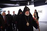 Верховный патриарх и Католикос всех армян Гарегин II прибыл в Москву