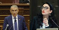 Ара Баблоян и Арпине Ованнисян