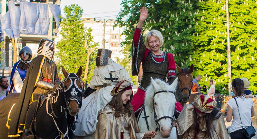 Вера Таривердиева на коне