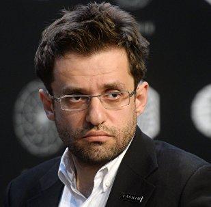 Гроссмейстер Левон Аронян (Армения)