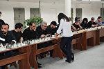 Шахматистка Ариана Каоли провела шахматную партию с заключенными в уголовно-исполнительном учреждении Армавир