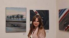 Екатерина Гуськова на международной выставке картин ARvesT Expo 2017 Yerevan