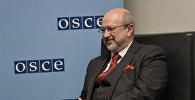 Генеральный секретарь Организации по безопасности и сотрудничеству в Европе (ОБСЕ) Ламберто Заньер