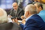 Круглый стол по инициативе ОДКБ и ЕВРАЗЭС на тему Образование в сфере безопасности Армении. Мгер Шахгелдян