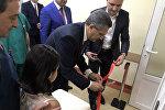 Открытие нового отделения для новорожденных в больничном комплексе Мурацан