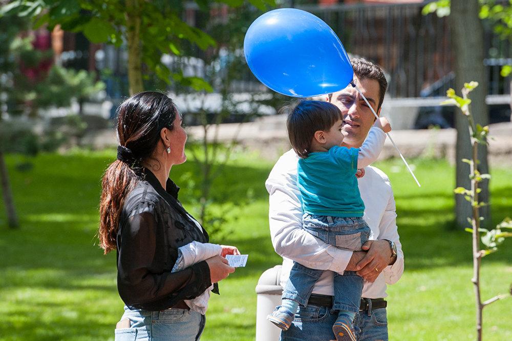 Международный день защиты детей отметили в Ереване