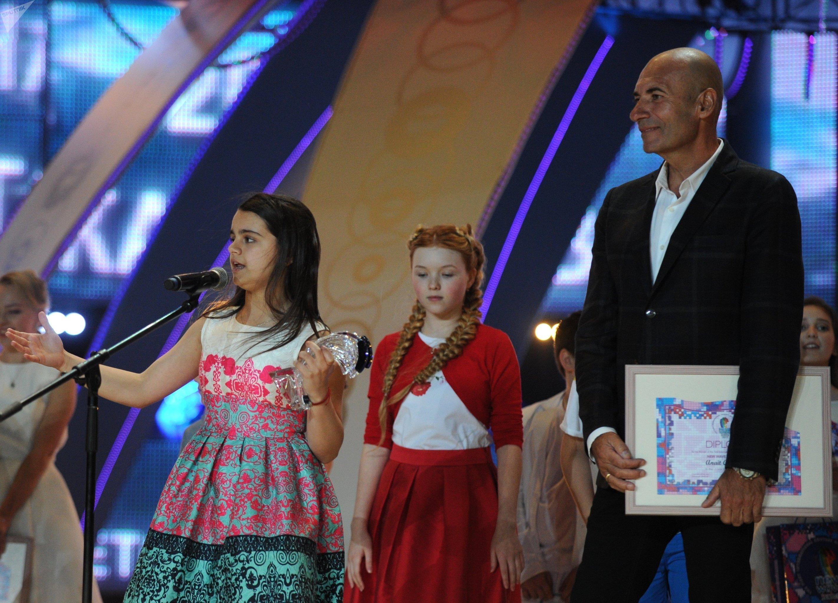 Анаит Адамян на конкурсе Детская Новая волна 2017