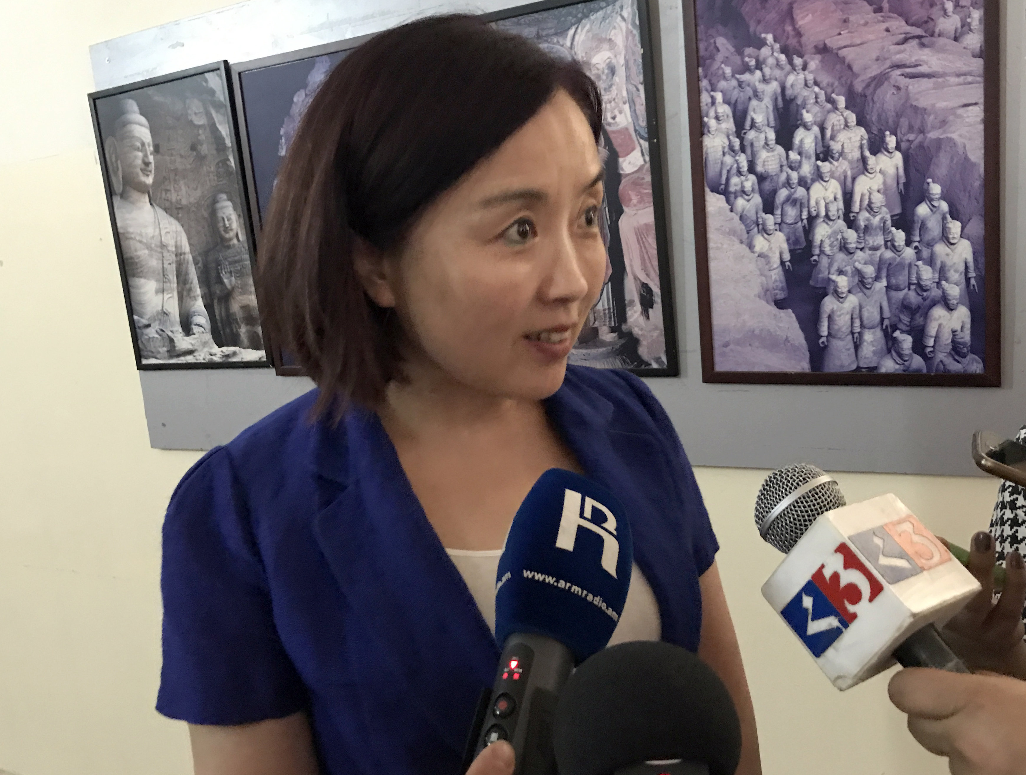Директор института Конфуция в Китае Ян Мейхуа