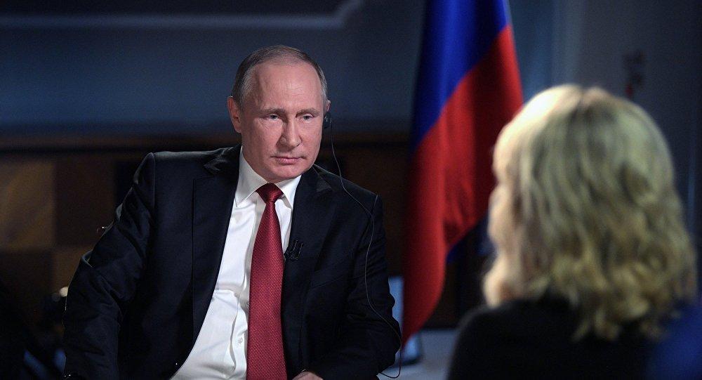 Президент РФ В. Путин дал интервью американскому телеканалу NBC