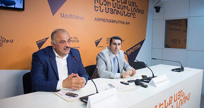 Седрак Мамулян и Геворг Орбелян
