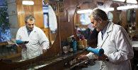 Старейшая парикмахерская в Гюмри