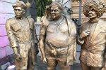 У памятника персонажам фильма Кавказская пленница украли кинжал