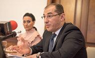 Презентация нового сайта Министерства финансов РА. Вардан Арамян