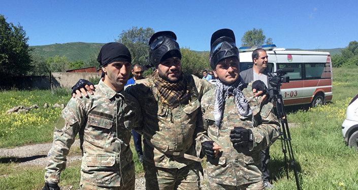 Любительский турнир по пейнтболу среди ИТ компаний Армении