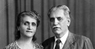 Амо и Рубина Арешяны. 1940-е гг.