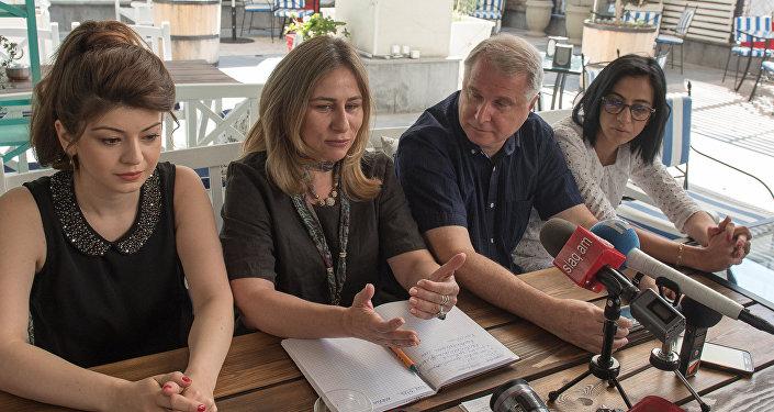 Из Израиля в Армению с трехдневным визитом приехала группа русскоязычных журналистов