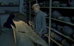 Самый древний в мире образец лодки обнаружен на дне озера Севан