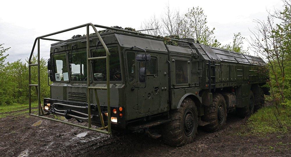 Оперативно-тактический ракетный комплекс Искандер-М
