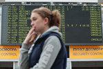Отмененные рейсы в аэропорту Пулково. Архивное фото