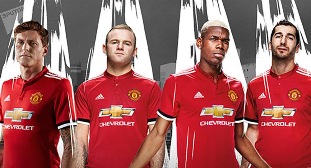 Новая форма команды Манчестер Юнайтед