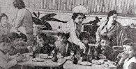 Детское кафе Сказка на улице Туманяна, 1968г.