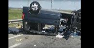 Авария на федеральной трассе в Ставропольском крае