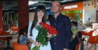 Артур Акопян с невестой