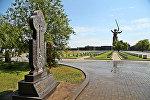 Хачкар на Мамаевом кургане (Волгоград) в память воинов-армян, погибших при обороне Сталинграда