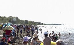 Специально к празднику Вардавар на Севане открыли еще один общественный пляж