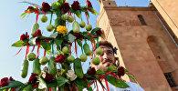 Праздничное шествие к празднику Вардавар