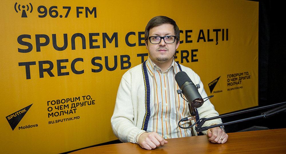 Настоятель Покровского храма молдавского села Гидигич Максим Мелинте