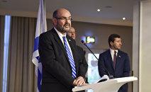Посол Израиля Элияху Иерушалмин