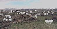 Руины города-призрака в горах Армении