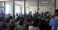 Судебное заседание группировки Сасна Црер
