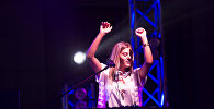 В центре Еревана прошел конкурс диджеев, посвящённый Международному дню молодёжи