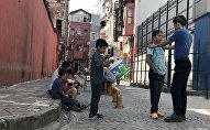 На улицах квартала Кумкапы