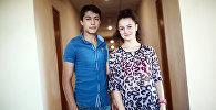 Участники конкурса Ты Супер. Танцы! из Армении Давид Айвазян и Астхик Мхитарян