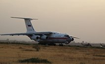Как российский самолет тушил Хосровский лес