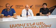 Седрак Мамулян, Мехак Апресян и Андре Симонян